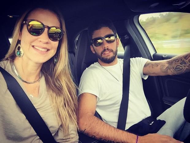 Luana Piovani e Pedro Scooby (Foto: Reprodução/Instagram)