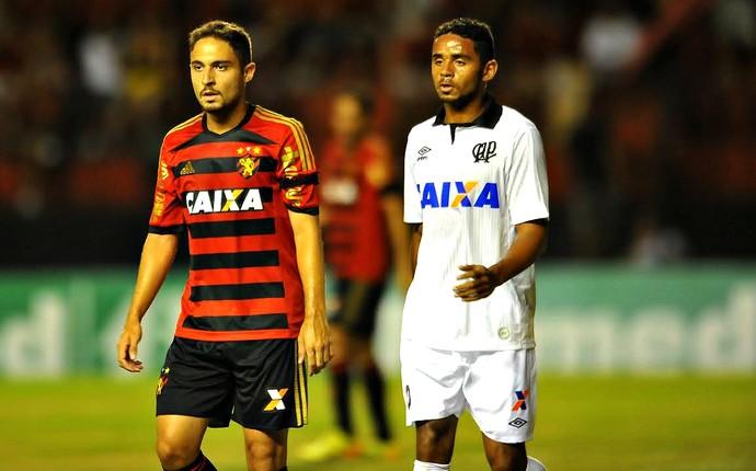 Sport x Atlético-PR Série A (Foto: Aldo Carneiro / Pernambuco Press)