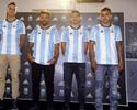 Argentina apresenta nova camisa  para eliminatórias em Buenos Aires