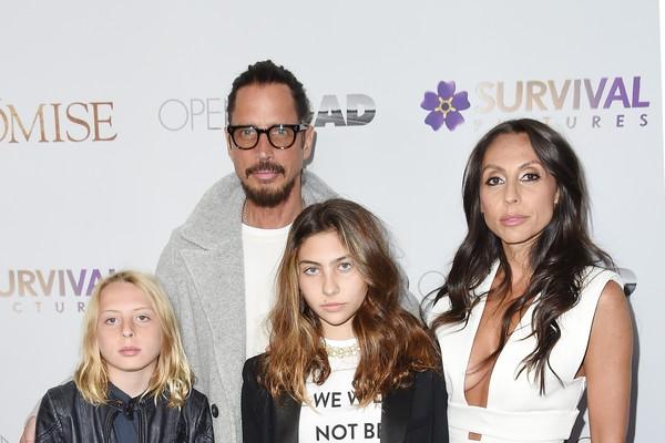Chris Cornell com sua família (Foto: Getty Images)