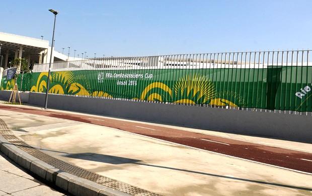 Obras Maracanã (Foto: André Durão)