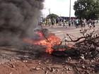 Manifestações atingem três pontos da BR-135 em São Luís