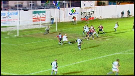 """Com """"cara de final"""", semifinal da Série B revive decisão do Capixabão 2005"""