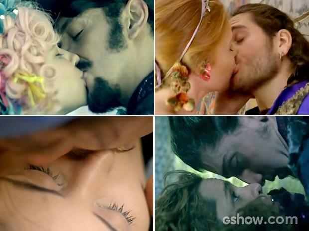 Confira os melhores beijos de Meu Pedacinho de Chão (Foto: Meu Pedacinho de Chão / TV Globo)