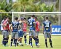 Zagueiros poupados no último treino do Cruzeiro antes de pegar o Santos