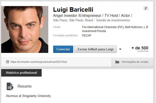 Luigi Baricelli (Foto: Linked / Reprodução )