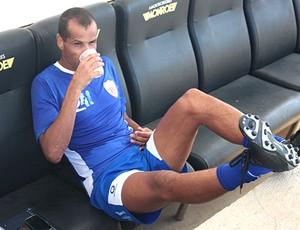 Rivaldo participa de treino do Mogi Mirim (Foto: Divulgação Mogi Mirim)