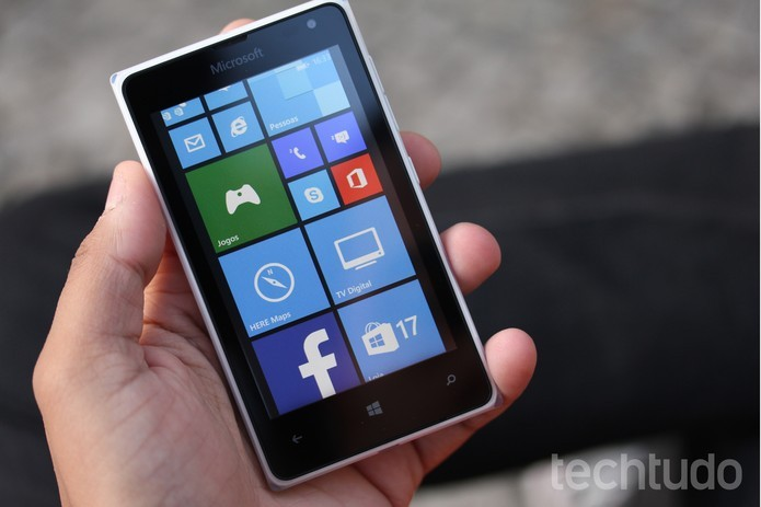 Confira o review do TechTudo para o smart de entrada Lumia 532 (Foto  Lucas 051f1e6322