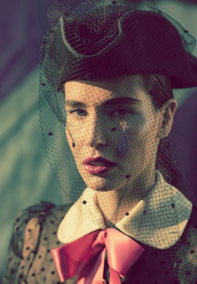 Ellen Milgrau fotografada por Jacques Dequecker para a Vogue Brasil (Foto: Jacques Dequeker)