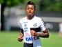 Santos treina com Bruno Henrique de titular para enfrentar o Botafogo-SP