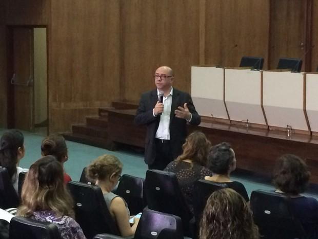 Jailson Correia, secretário de Saúde do Recife (Foto: Thays Estarque/G1)