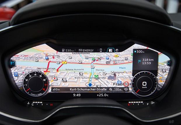 Interior do Audi TT 2014 (Foto: Divulgação)