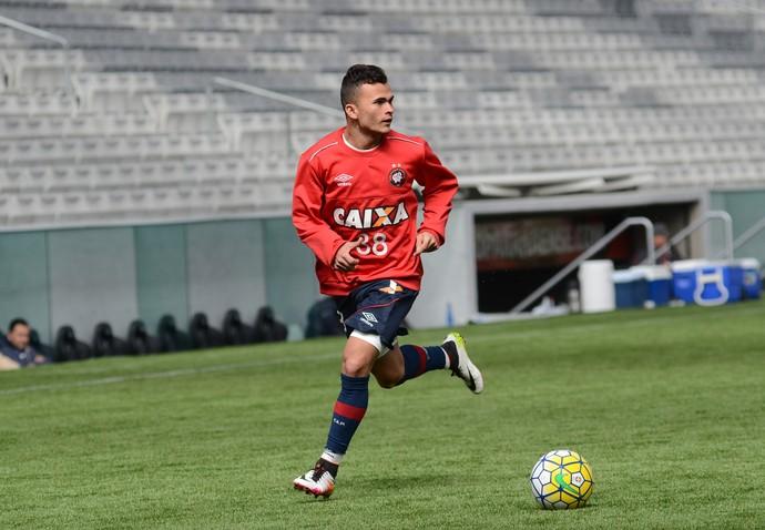 Lucas Fernandes Atlético-PR Arena da Baixada (Foto: Site oficial do Atlético-PR/Marco Oliveira)