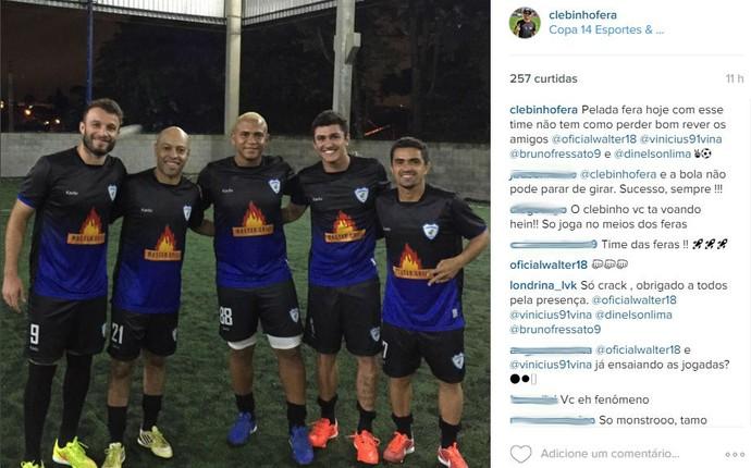 Walter Vinícius Atlético-PR (Foto: Reprodução/ Instagram)
