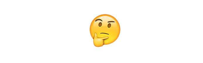 Pensando ou analisando algo é o que representa o emoji pensativo (Foto: Reprodução/emojipedia)
