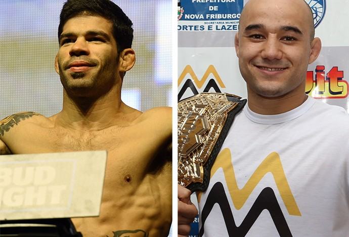 MONTAGEM- UFC Raphael Assunção x Marlon Moraes (Foto: Editoria de Arte)