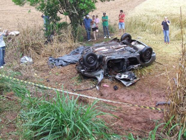No momento do acidente, chovia bastante (Foto: João Muniz/Arquivo Pessoal)