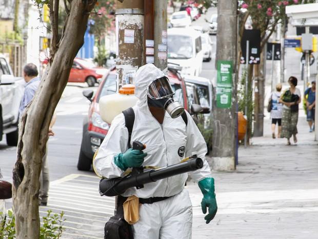 Novos casos de dengue motivam aplicação de inseticidas em Porto Alegre (Foto: Reprodução/Concepa)