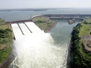 Usina hidrelétrica de Itaipu (Foto: Divulgação)