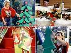 Decoração de Natal às pressas: árvore de adesivo pode salvar o ambiente