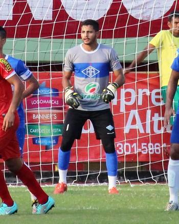 Franco, goleiro do Atlético-AC (Foto: Duaine Rodrigues)