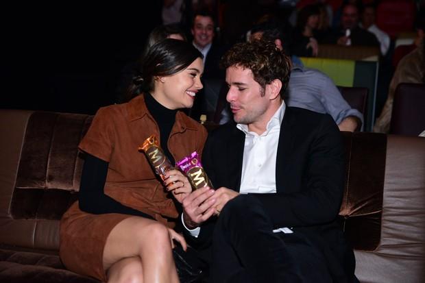 Sophia Charlotte e Daniel Oliveira (Foto: Leo Franco /AgNews)