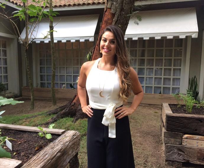 Nutricionista Mariana Ferri dá dicas no 'É de Casa' (Foto: Paula Santos/Gshow)