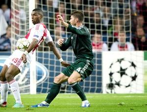 Sergio Ramos, Ajax e Real Madrid (Foto: Agência AFP)