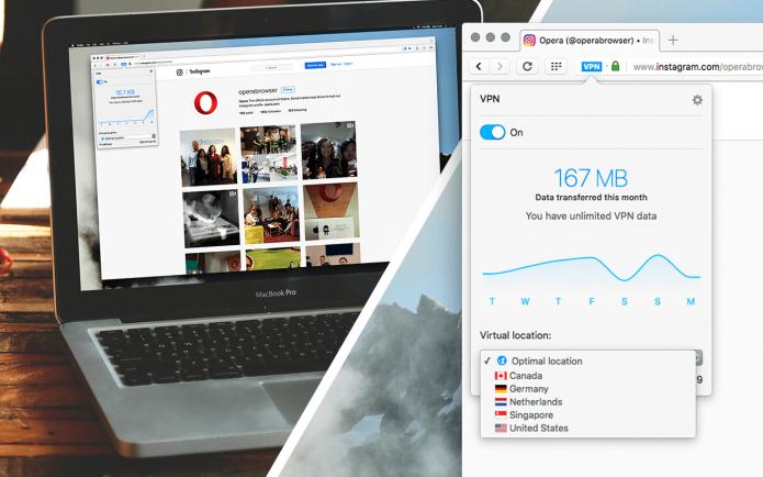 Opera 40 traz VPN nativa para todos os usuários (Foto: Divulgação/Opera)