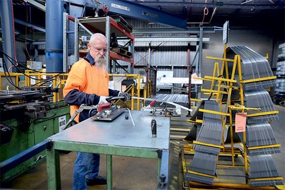 Fábrica de autopeças em Geelong, Austrália (Foto: Carla Gottgens/Bloomberg via Getty Images)