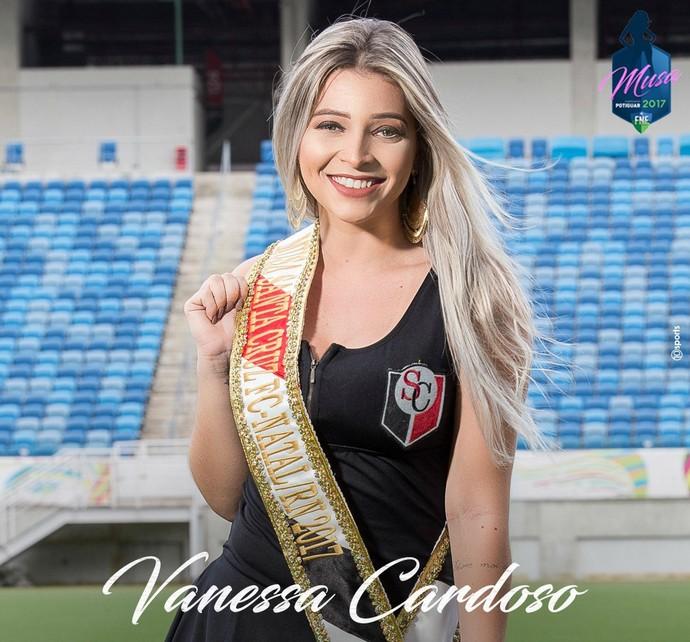 MUSA DO CAMPEONATO POTIGUAR 2017 - Vanessa Cardoso Ribeiro - Santa Cruz de Natal (Foto: Divulgação)