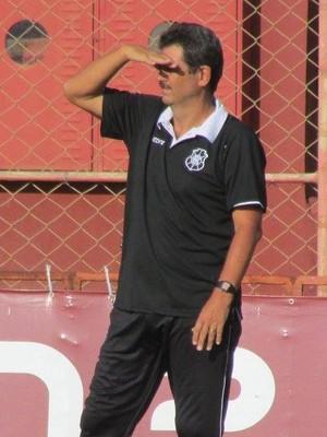 Duílio Dias, técnico do Rio Branco-ES (Foto: Deysiane Gagno/Rio Branco AC)