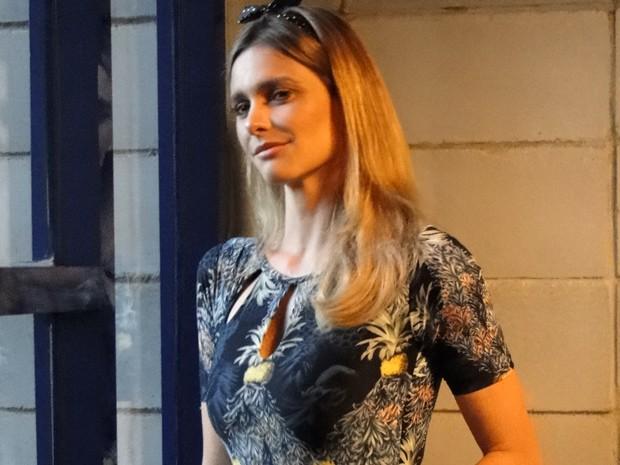 Fernanda Lima participa do Na Moral (Foto: Na Moral/TV Globo)