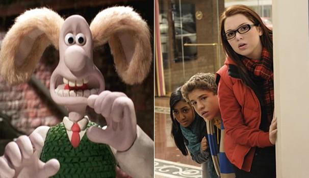 Divirta-se com ''Wallace e Gromit - A Batalha dos Vegetais' e 'Harriet, a Espiã: Guerra dos Blogs' (2010) (Foto: Divulgação/Reprodução)