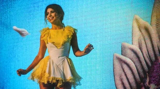 Paula Fernandes emociona o pblico com show da turn 'Um Ser Amor' (crditos: Vitor Augusto) (Foto: Vitor Augusto)