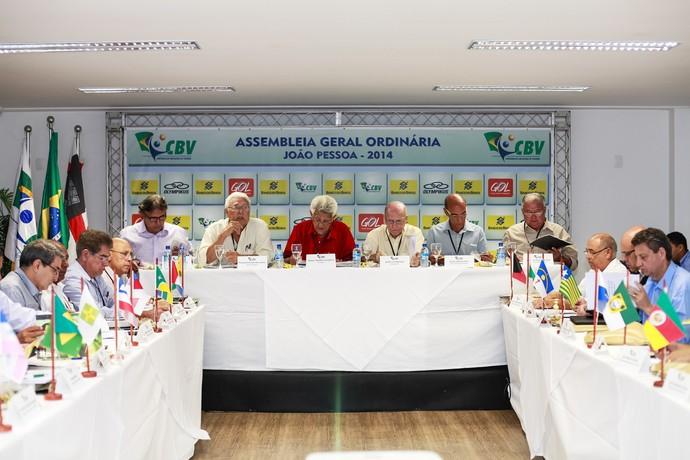 Assembleia Geral CBV vôlei (Foto: PhotoA2/CBV)