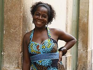 Zezeh Barbosa, a tia Jurema de Lado a Lado (Foto: Lado a Lado / TV Globo)