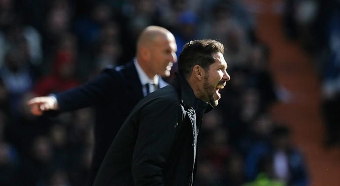 Zidane Simeone Real Madrid Atlético de Madrid (Foto: Getty Images)
