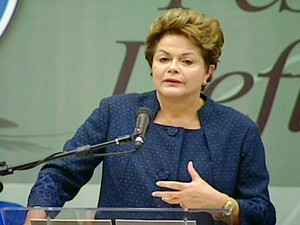 Dilma Rousseff (Foto: Reprodução Globo News)