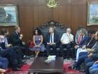 Renan recebe Lula e Dilma em reuniões na tarde desta terça