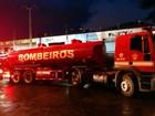 Incêndio atinge empresa de fundição desativada em Piracicaba; sem feridos