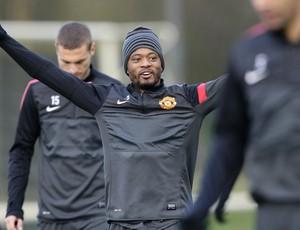 Evra Manchester United (Foto: AP)