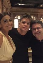 Fábio Assunção posta foto dos bastidores de novela com Juliana Paes