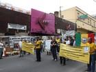 Sindicato faz manifestação para lembrar trabalhadores vítimas da Kiss