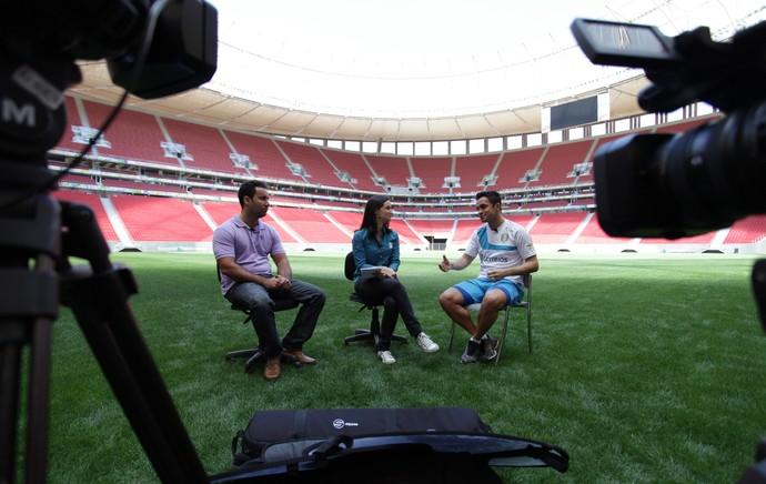 Falcão futsal entrevista (Foto: Pedro Veríssimo)