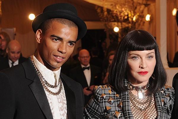 Madonna e Brahim Zaibat (Foto: Getty Images)