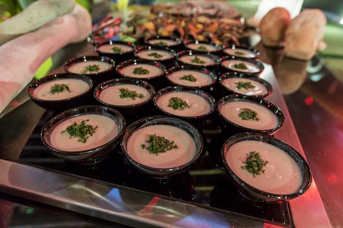 Bora de couve-flor pra saborear entre uma carne e outra (Foto: Artur Meninea/Gshow)