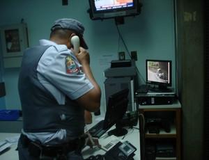policial militar cumbica (Foto: Rodrigo Faber/Globoesporte.com)