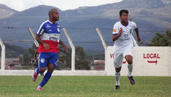 Afogados e Vitória ficaram no 2 a 2 (Foto: Romário Silva / Ascom Afogados)