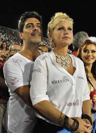 Xuxa e Junno Andrade (Foto: Roberto Teixeira/EGO)